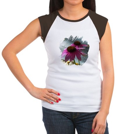 Windflower Women's Cap Sleeve T-Shirt