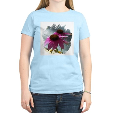 Windflower Women's Pink T-Shirt