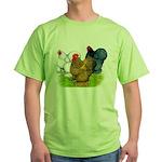 Assorted Cochins Green T-Shirt