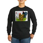 Assorted Cochins Long Sleeve Dark T-Shirt