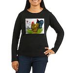 Assorted Cochins Women's Long Sleeve Dark T-Shirt