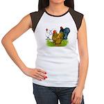 Assorted Cochins Women's Cap Sleeve T-Shirt