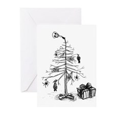 Gothic Christmas Tree Greeting Cards (Pk of 20)