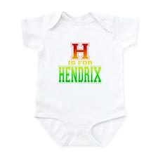 H is for Hendrix Infant Bodysuit