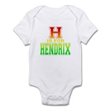 H is for Hendrix Onesie