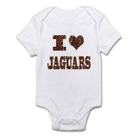 i love jaguars Infant Bodysuit