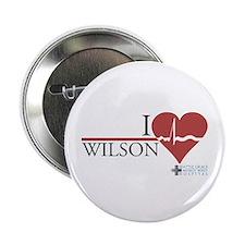 "I Heart Wilson - Grey's Anatomy 2.25"" Button"