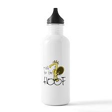 Talk to the Hoof Water Bottle