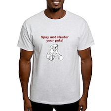 dog spay/neuter T-Shirt
