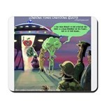 Spaced-Out Vegan Mousepad