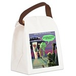 Spaced-Out Vegan Canvas Lunch Bag