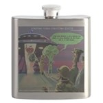 Spaced-Out Vegan Flask