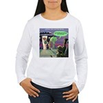 Spaced-Out Vegan Long Sleeve T-Shirt
