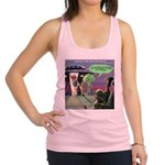 Spaced-Out Vegan Racerback Tank Top