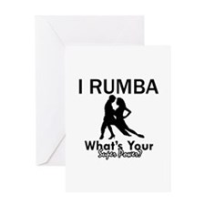 Rumba is my Superpower Greeting Card