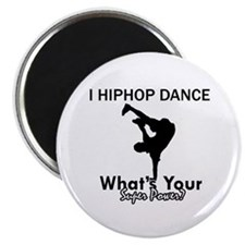 "Hip Hop is my Superpower 2.25"" Magnet (100 pack)"