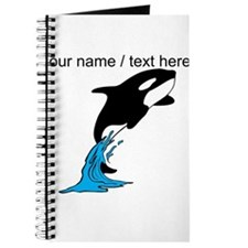 Custom Jumping Whale Journal
