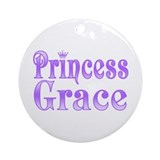"""Princess Grace"" Ornament (Round)"