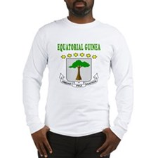 Equatorial Guinea Coat Of Arms Designs Long Sleeve