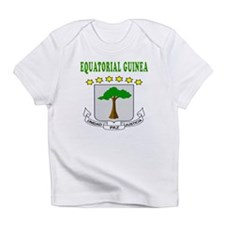 Equatorial Guinea Coat Of Arms Designs Infant T-Sh