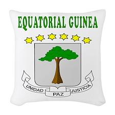 Equatorial Guinea Coat Of Arms Designs Woven Throw