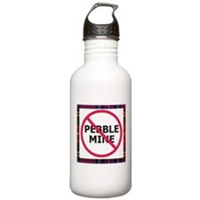 Nopebblemine Water Bottle (Plaid)