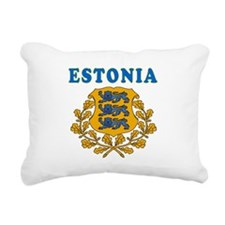 Estonia Coat Of Arms Designs Rectangular Canvas Pi