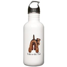 Welsh Terrier Talk Water Bottle