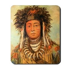 Ermine Tail Warrior Mousepad