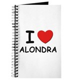 I love Alondra Journal
