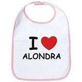 I love Alondra Bib