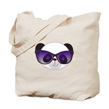 Panda With Sunglasses Tote Bag