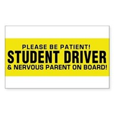 Student Driver and Parent on Board! Decal