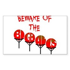 Beware the big balls Decal