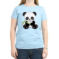 Panda With Bamboo T-Shirt