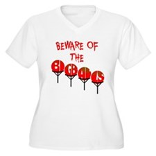 Beware the big balls Plus Size T-Shirt