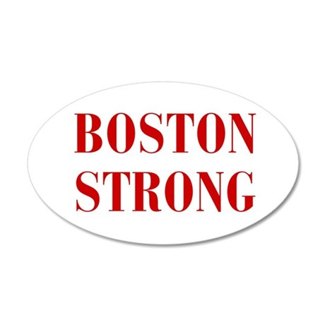 boston-strong-bod-dark-red Wall Decal