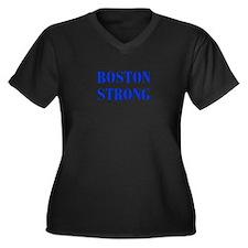 boston-strong-bod-blue Plus Size T-Shirt