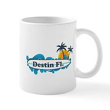 Destin Florida - Surf Design. Small Mug