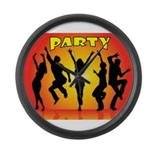 PARTY Large Wall Clock