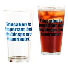 Gym Humor Drinking Glass
