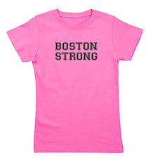 boston-strong-var-dark-gray Girl's Tee