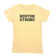 boston-strong-var-dark-gray Girl's Tee