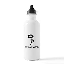 Waffle Fanatic Sports Water Bottle