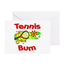 Tennis Bum Greeting Cards (Pk of 10)