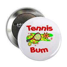 """Tennis Bum 2.25"""" Button (10 pack)"""