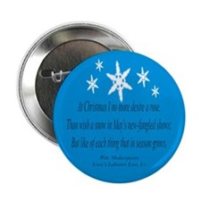 Shakespeare's Christmas Button