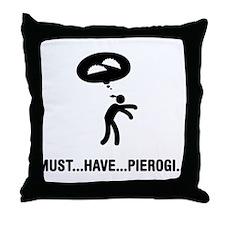 Pierogi Lover Throw Pillow