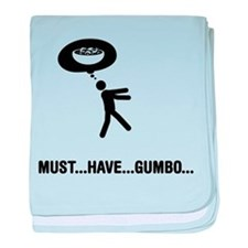 Gumbo Lover baby blanket