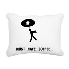 Coffee Lover Rectangular Canvas Pillow